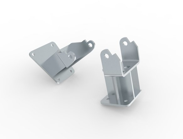 71221002HKR - Hooker Engine Mount Brackets Image