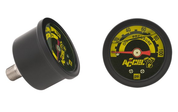 7122B - Motorcycle Oil Pressure Gauge Image