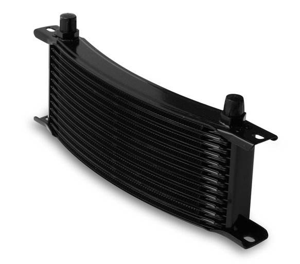 71306AERL - Earls 13 Row Oil Cooler Core, -6 AN male fitting size, black narrow Image