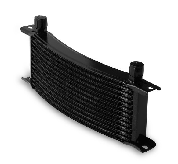 71308AERL - Earls 13 Row Oil Cooler Core, -8 AN male fitting size, black narrow Image