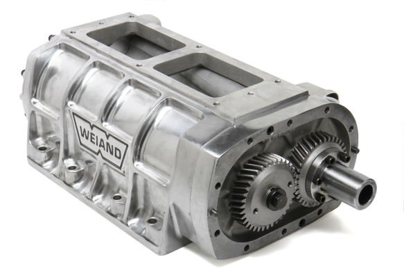 7576P - Weiand 6-71 Supercharger Case Assembly - Polished Image