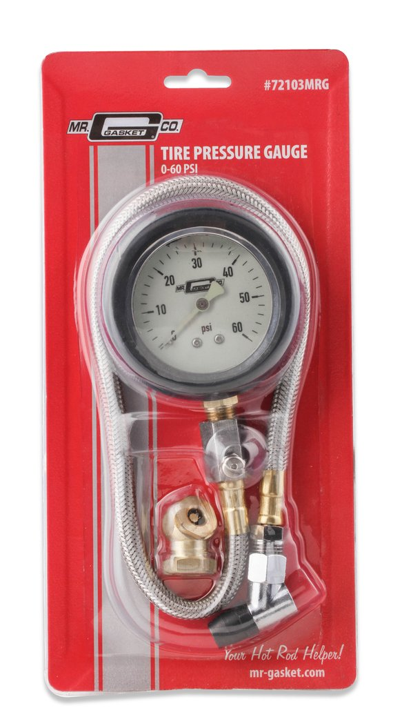 72102MRG - Mr. Gasket Tire Pressure Gauge - additional Image