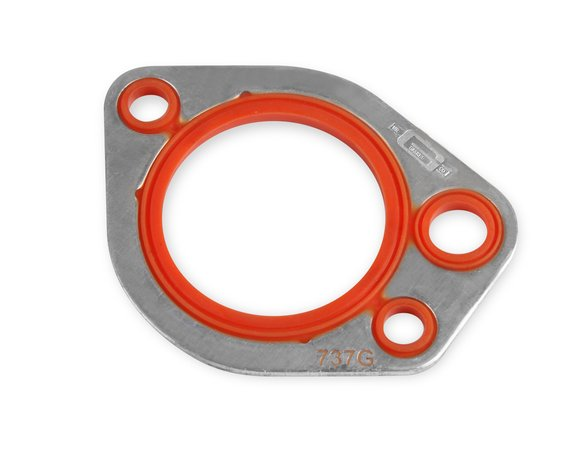 737G - Mr. Gasket Thermostat Gasket - Molded Rubber on Aluminum Carrier Image