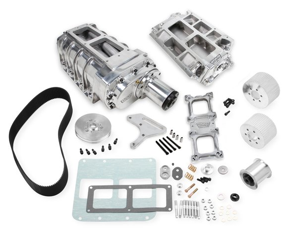 7386P - Weiand 8-71 Supercharger Kit - Polished Image