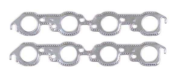 7407G - Header Gaskets - Aluminum-Layered - 396-454 Chevrolet Big Block Mark IV 1965-90 Image