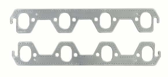 7411G - Header Gaskets - Aluminum-Layered - 302-351W Ford Small Block Windsor 1987-95 Image