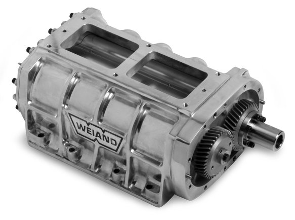 7476P - Weiand 6-71 Supercharger Case Assembly - Satin Image
