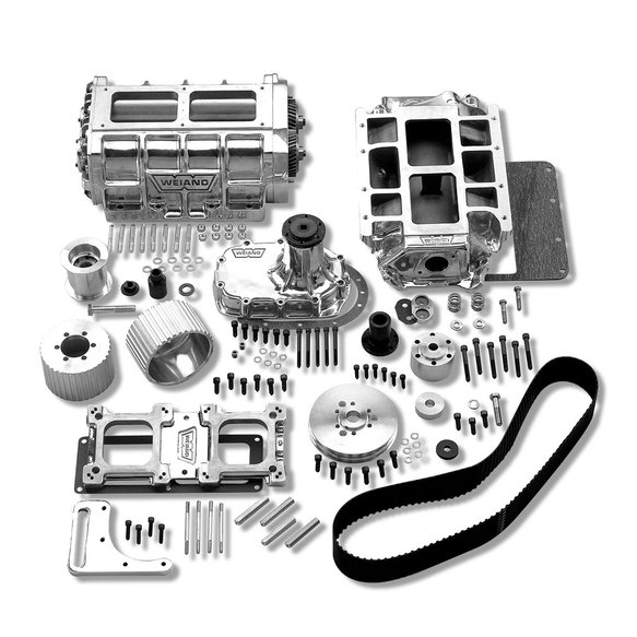 7483P - Weiand 6-71 Supercharger Kit - Polished Image