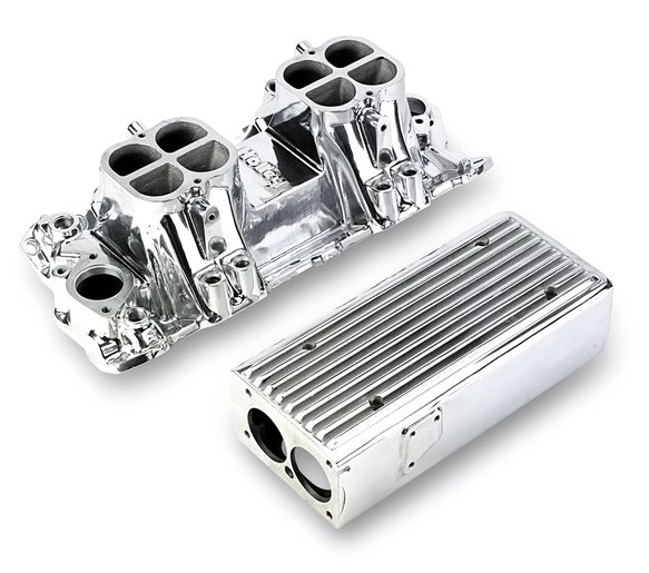 7540P - Weiand Stealth Ram Intake - Chevy Small Block V8 Image