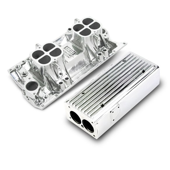 7542P - LTS Weiand Stealth Ram Intake - Chevy Small Block V8 Image