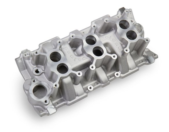 7550 - Weiand 3x2 Dual Plane Intake- Chevy Small Block V8 Image