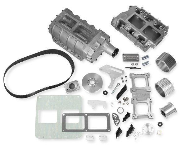 7581 - Weiand 6-71 Supercharger Kit - Satin Image