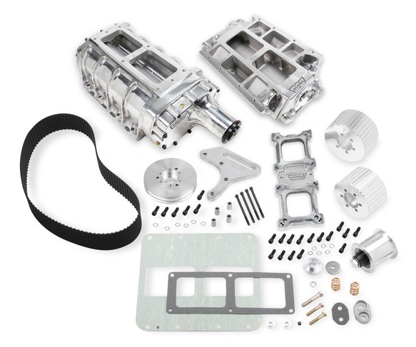 7588P - Weiand 6-71 Supercharger Kit - Polished Image