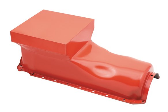 7606G - Mr. Gasket Low Profile Oil Pan - Orange Image