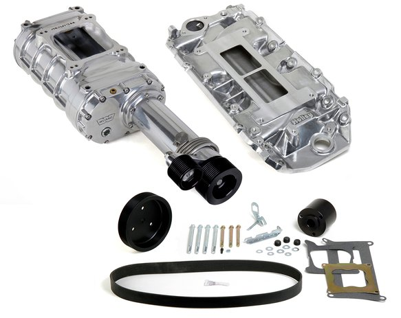7751-1 - Weiand 174 Pro-Street Supercharger Kit - Polished Image