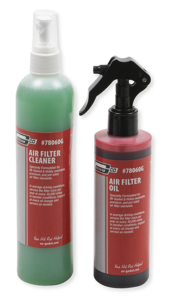 78060G - Mr. Gasket Air Filter Oil & Cleaner Kit - additional Image