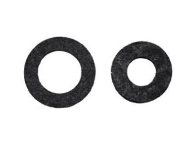 8-17QFT - N&S Nylon Adjustment Nut Gasket Large Hole (2 Pack) Image