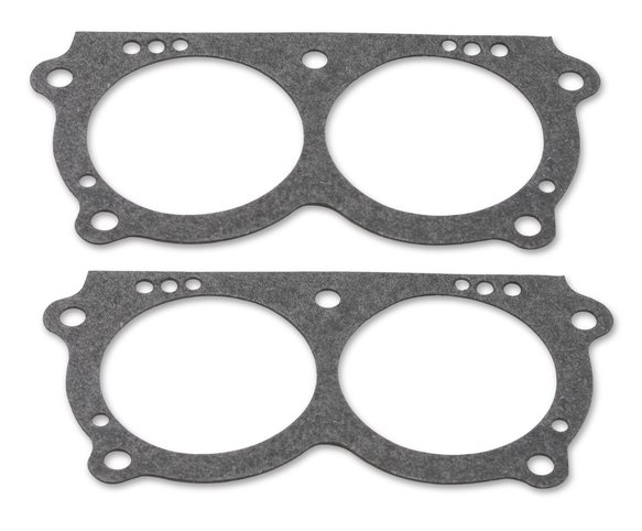 8-65QFT - Throttle body gasket 6 pack end carburetor Image