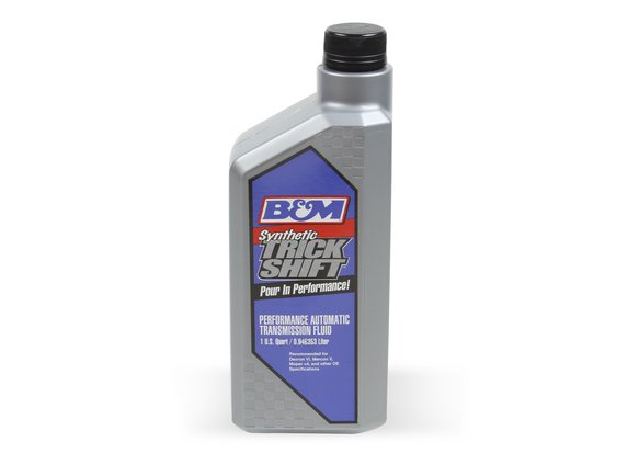 80262 - B&M Synthetic Trick Shift Automatic Transmission Fluid - 1 Quart Bottle Image