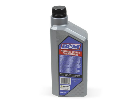 80262 - B&M Synthetic Trick Shift Automatic Transmission Fluid - 1 Quart Bottle - additional Image