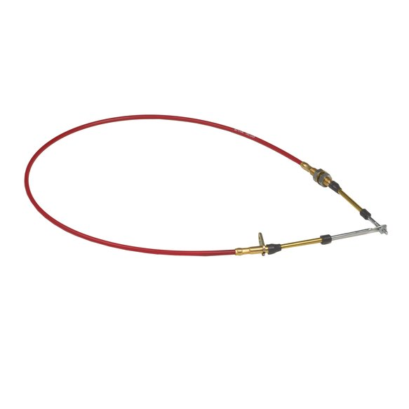 80605 - B&M Performance Shifter Cable - 5-Foot Length - Red Image