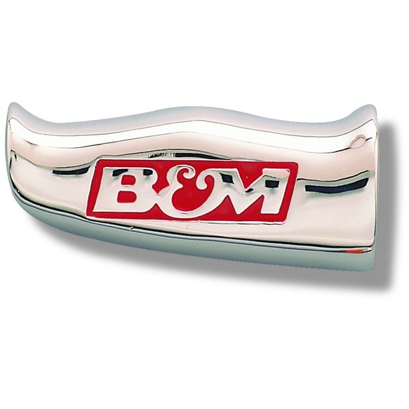 80643 - B&M Universal Shifter T-Handle with B&M Logo, Chrome, SAE Threads Image