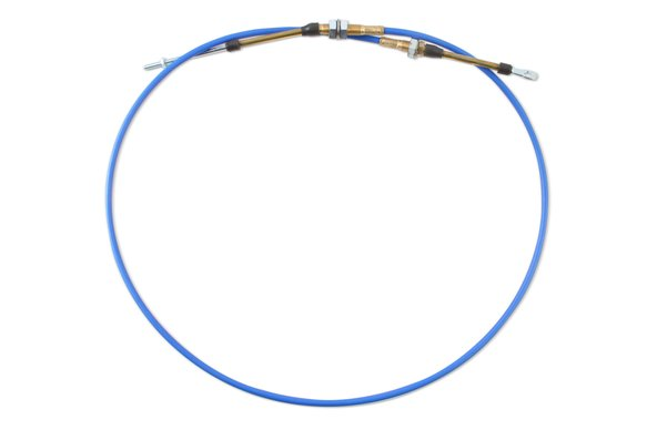 80735 - B&M Performance Shifter Cable - 5-Foot Length - Blue Image