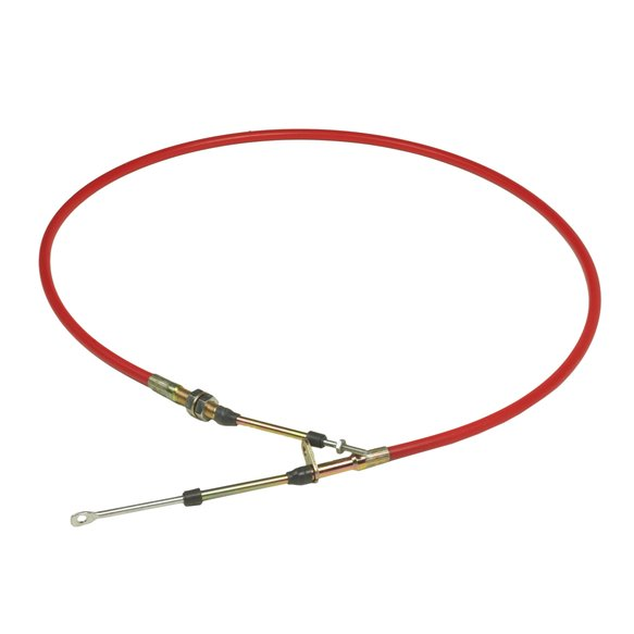 80833 - B&M Super Duty Race Shifter Cable - 5-Foot Length - Red Image
