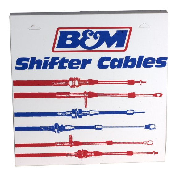 80833 - B&M Super Duty Race Shifter Cable 5-foot Length - additional Image