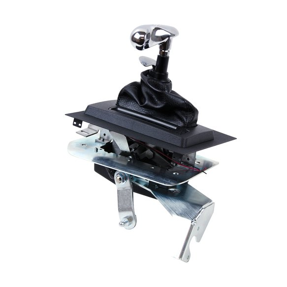 81002 - B&M Hammer Console Shifter for 87-93 Mustang with AOD Transmission Image