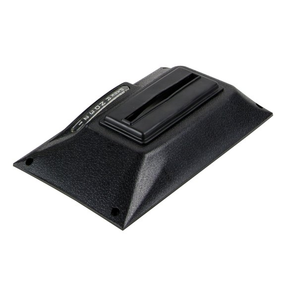 81026 - Black Textured Cover - 68-69 Camaro Console Quicksilver Image