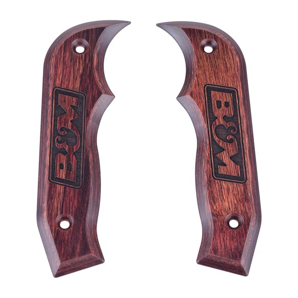 81086 - Shifter Accessory, Rosewood Magnum Grip Side Plates Image