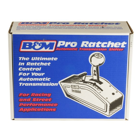 81120 - B&M Automatic Ratchet Shifter - Magnum Grip Stealth Pro Ratchet - additional Image