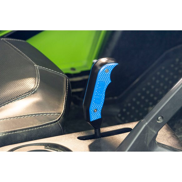 81233 - XDR Magnum Grip Shift Handle, 18-19 Textron Wildcat, Blue - additional Image