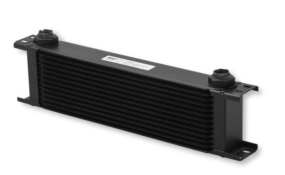813ERL - Earls UltraPro Oil Cooler - Black - 13 Rows - Extra-Wide Cooler - 10 O-Ring Boss Female Ports Image
