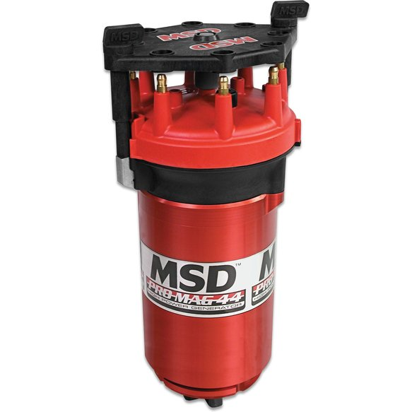 8140MSD - Pro Mag 44 Amp Generator, CCW Rotation, Red, Band Clamp Image