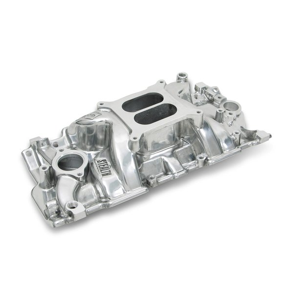 8150P - Weiand Speed Warrior Intake - Chevy Small Block V8 Image