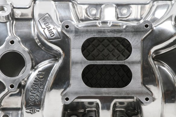 8170P - Weiand Speed Warrior Intake - Chevy Small Block V8 - additional Image
