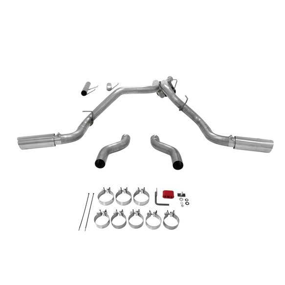 817709 - Flowmaster American Thunder Dual Exit Cat-back System for 14-19 Ram 2500 with 6.4L V8 - additional Image