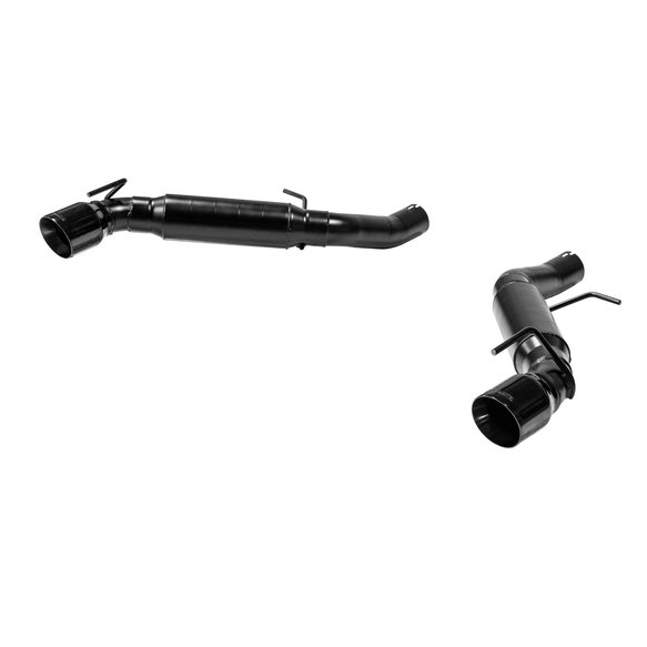 817745 - Flowmaster - Outlaw Axle-back Dual Exhaust for 2016-2019 Camaro SS with 6.2L - Black Tips Image