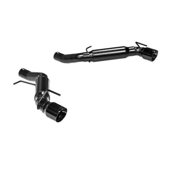 817745 - Flowmaster - Outlaw Axle-back Dual Exhaust for 2016-2019 Camaro SS with 6.2L - Black Tips - additional Image