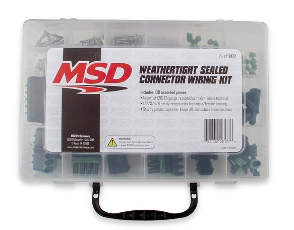 8177 - MSD Weathertight Connector Kit - default Image