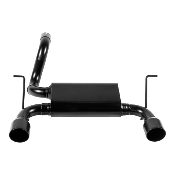 817804 - Flowmaster Force II Dual Exit Axle-Back Exhaust for Jeep Wrangler JL with 2.0L and 3.6L - additional Image