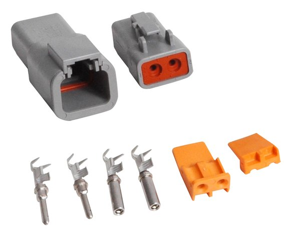 8184 - 2-Pin Deutsch Connector, 12-14 gauge Image
