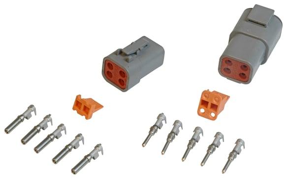 8187 - 4-Pin Deutsch Connector, 12-14 gauge Image