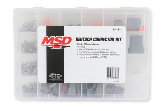MSD Deutsch Connector Kit