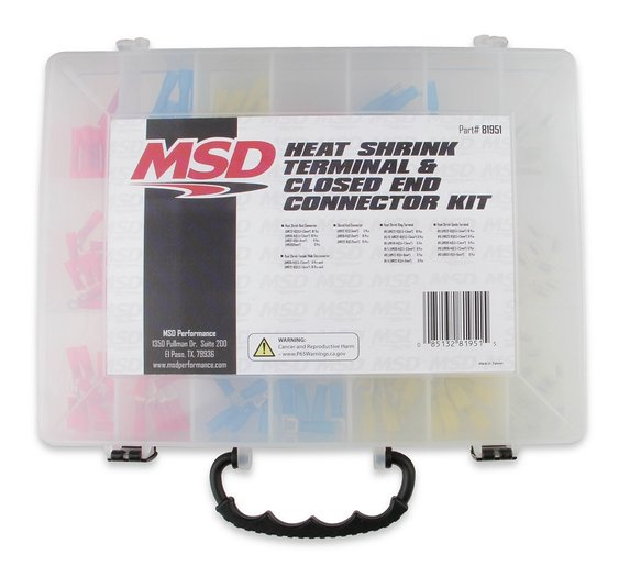 81951 - MSD Heat Shrink Terminal Kit - default Image