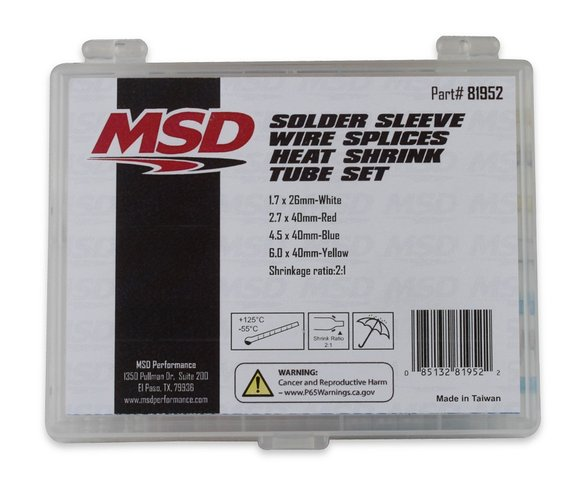 81952 - MSD Solder Sleeve Wire Splice Kit Image