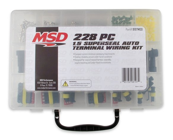 8197MSD - MSD Superseal Connector Kit Image
