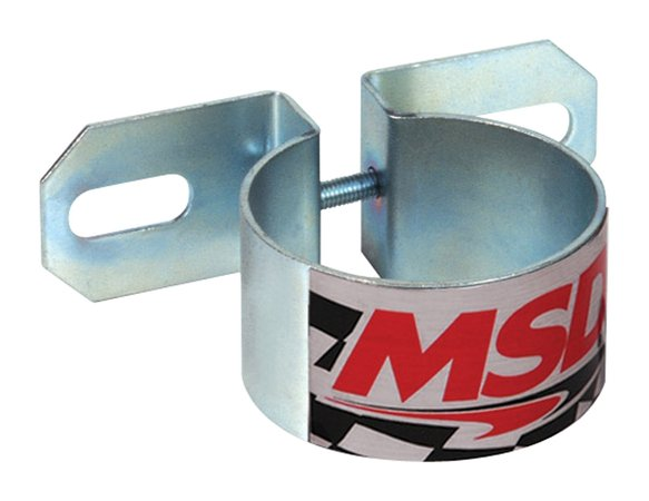 8213 - MSD Ignition Coil bracket (Canister Style), Horizontal Mounting GM coils Image